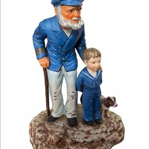 Norman Rockwell looking Out to Sea figurine